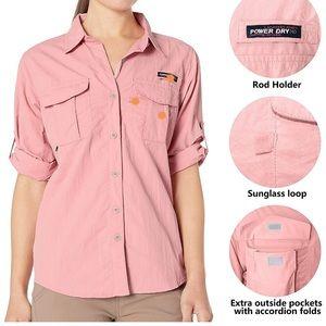 UV protection hiking shirt